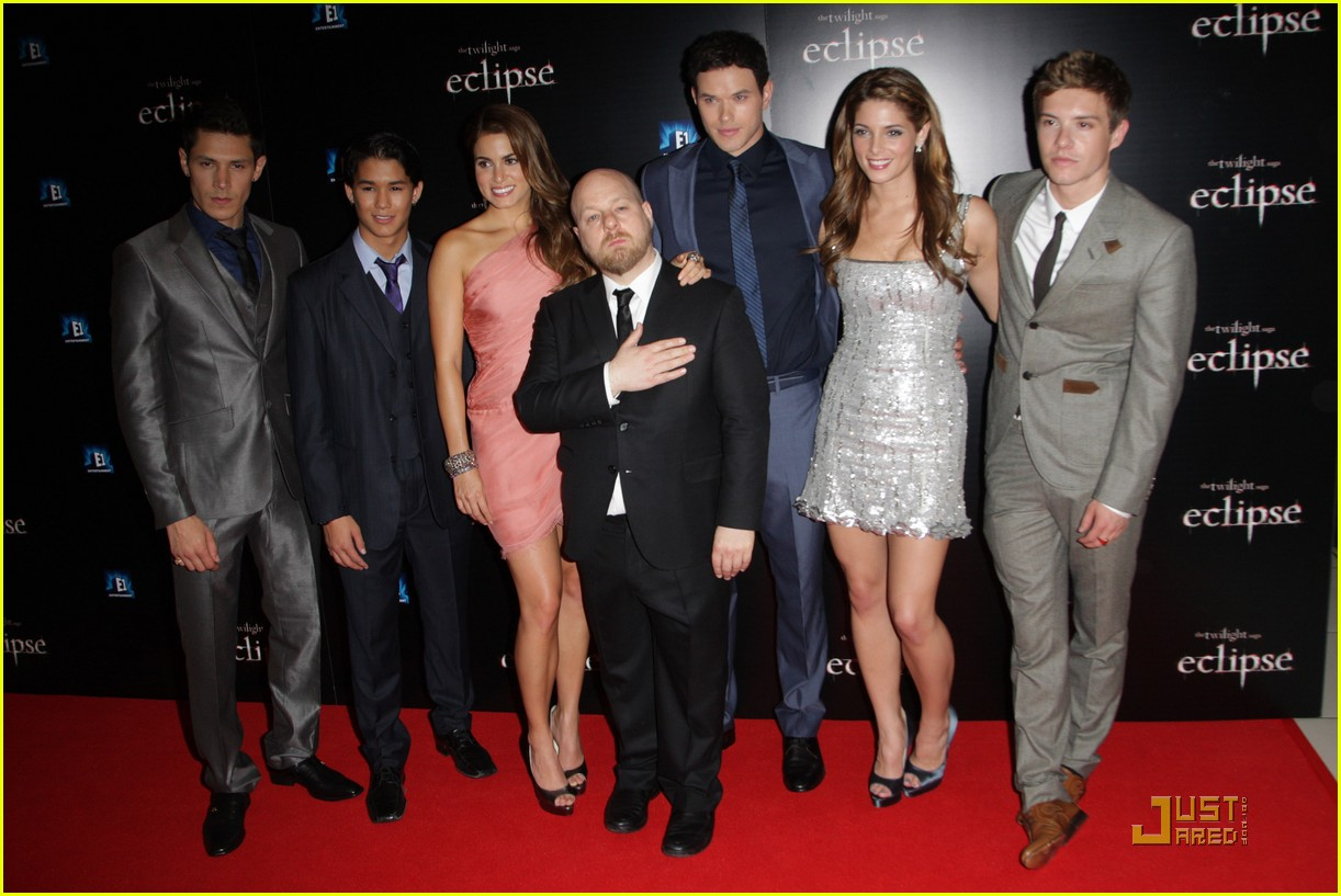 twilight cast eclipse london premiere 06
