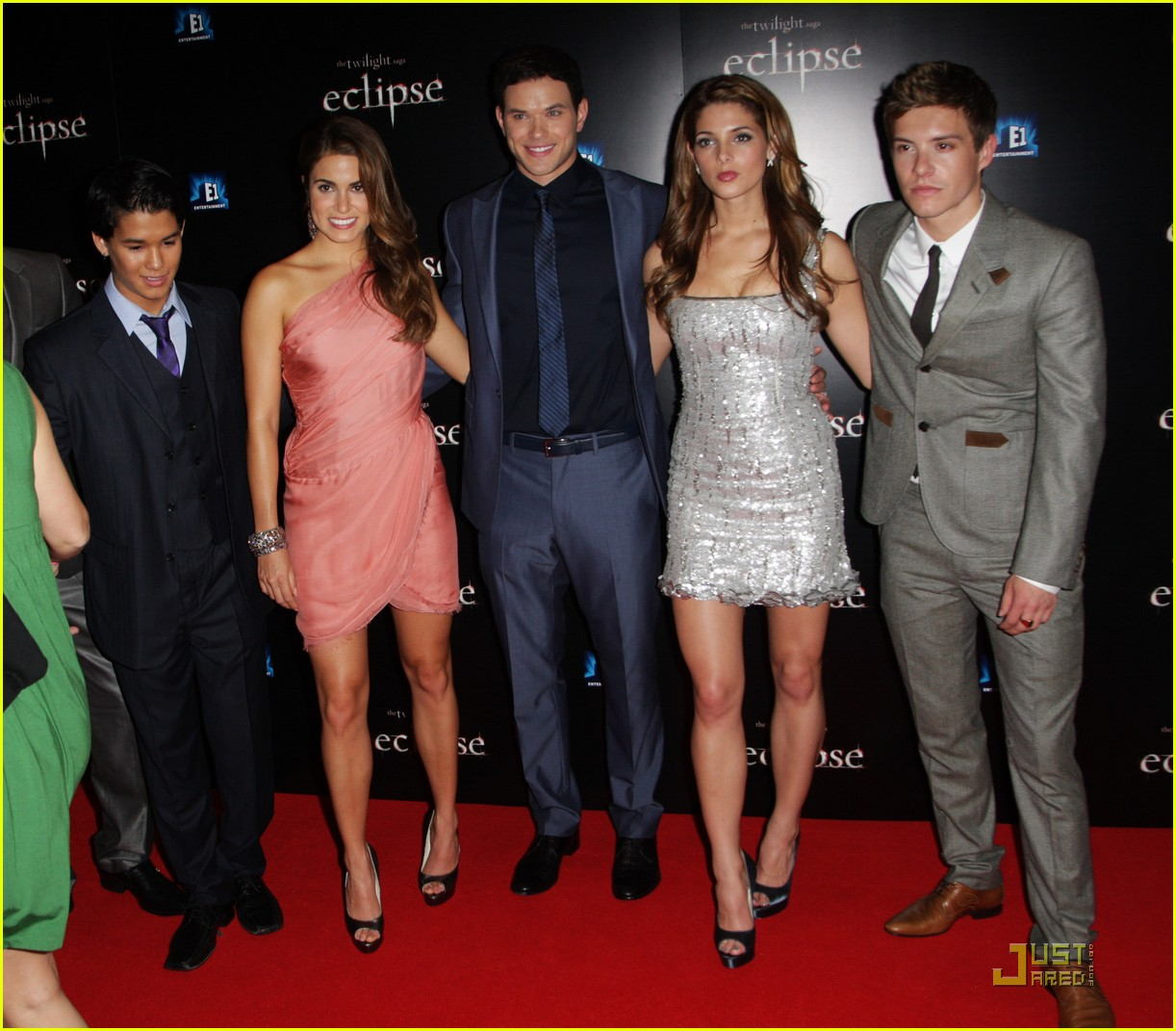 twilight cast eclipse london premiere 14