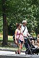jennifer garner victor garber seraphina violet central park 12
