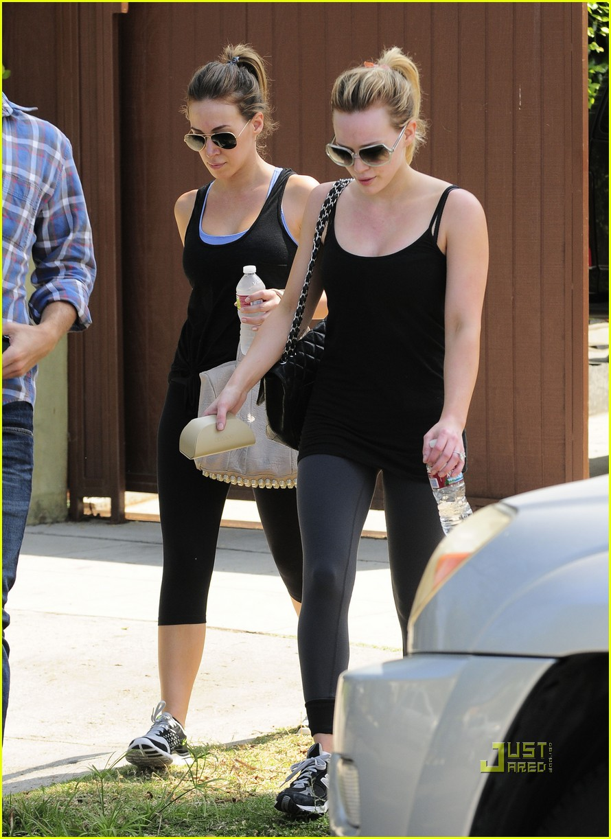 hilary duff haylie gym 07