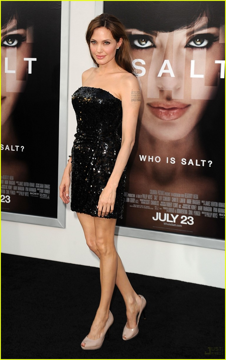 Анджелина Джоли Туфли с открытым носом.