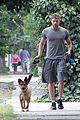 kellan lutz walking dogs grey shirt 11