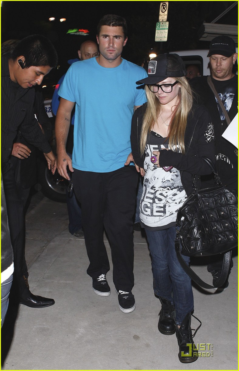 Avril dating brody