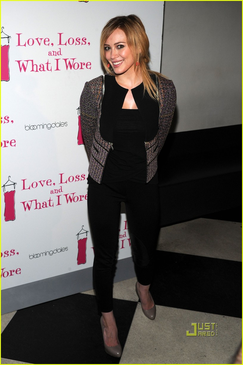hilary duff love loss and what i wore 05