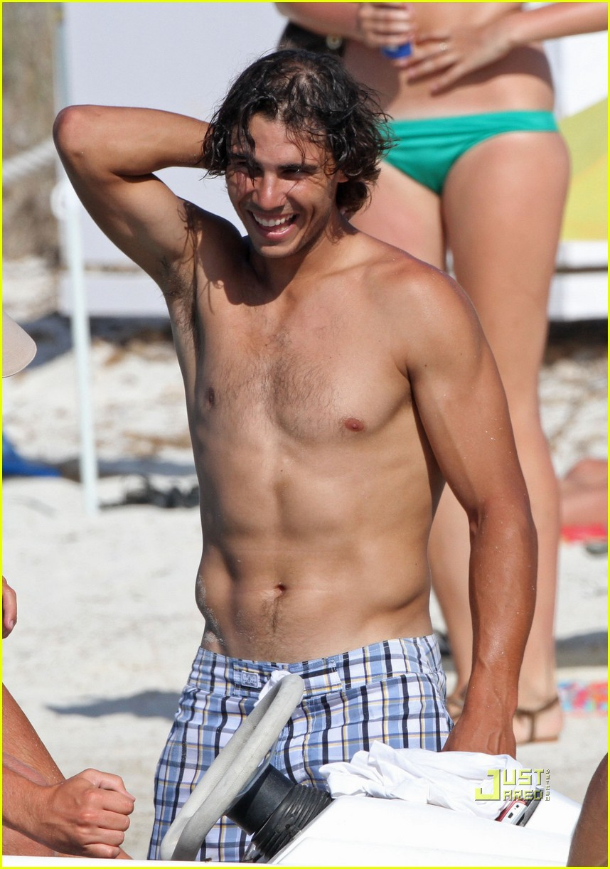 rafael nadal shirtless soccer stud 01