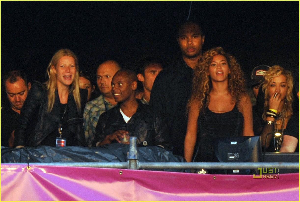 gwyneth paltrow beyonce jay z concert 092463844