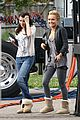 hayden panettiere emma roberts scream 4 set 01