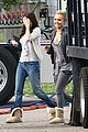 hayden panettiere emma roberts scream 4 set 03