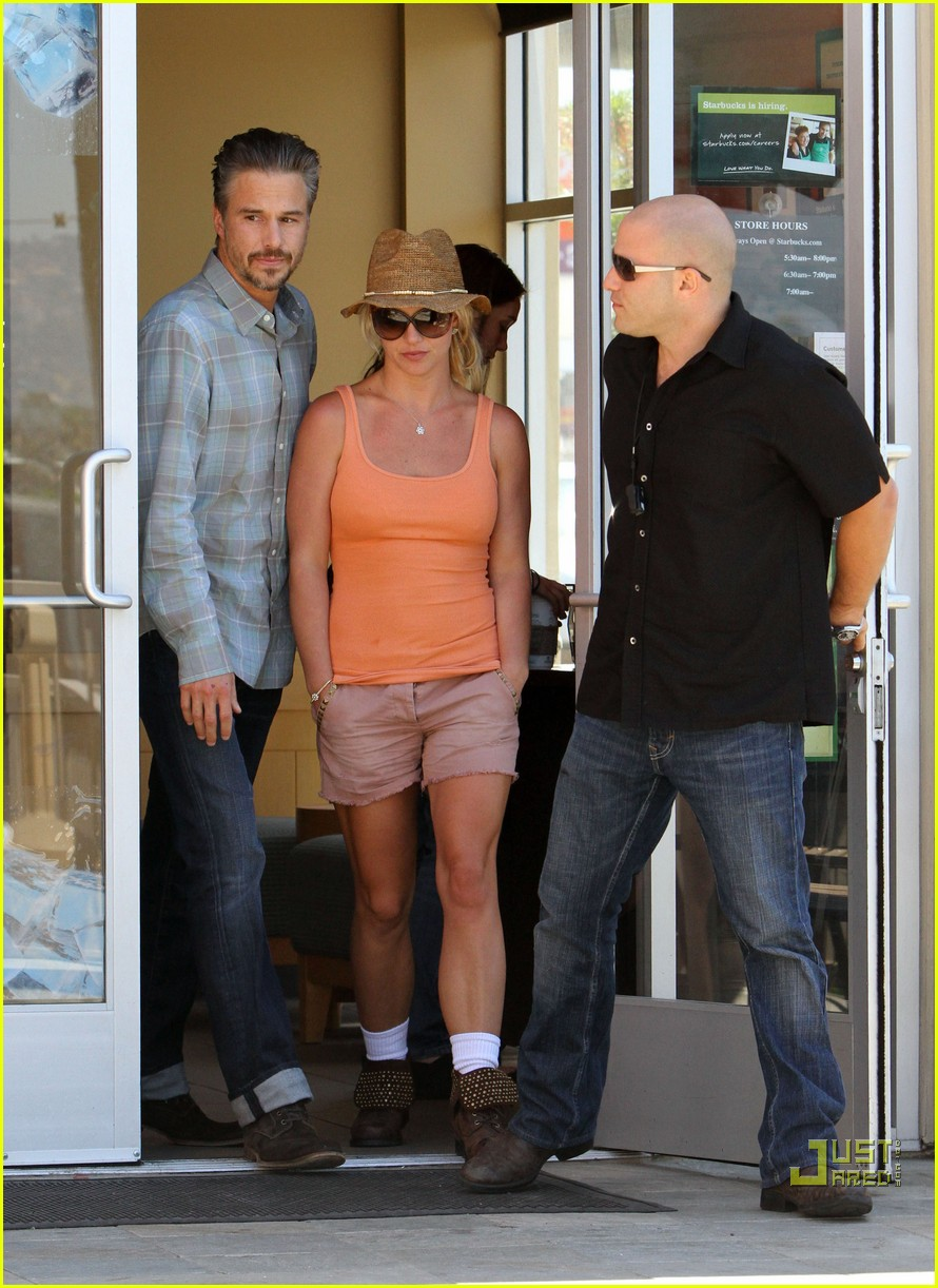britney spears jason trawick starbucks stop 14