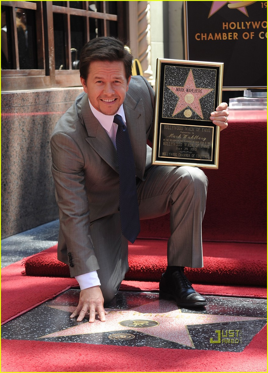 mark wahlberg hollywood walk of fame 06
