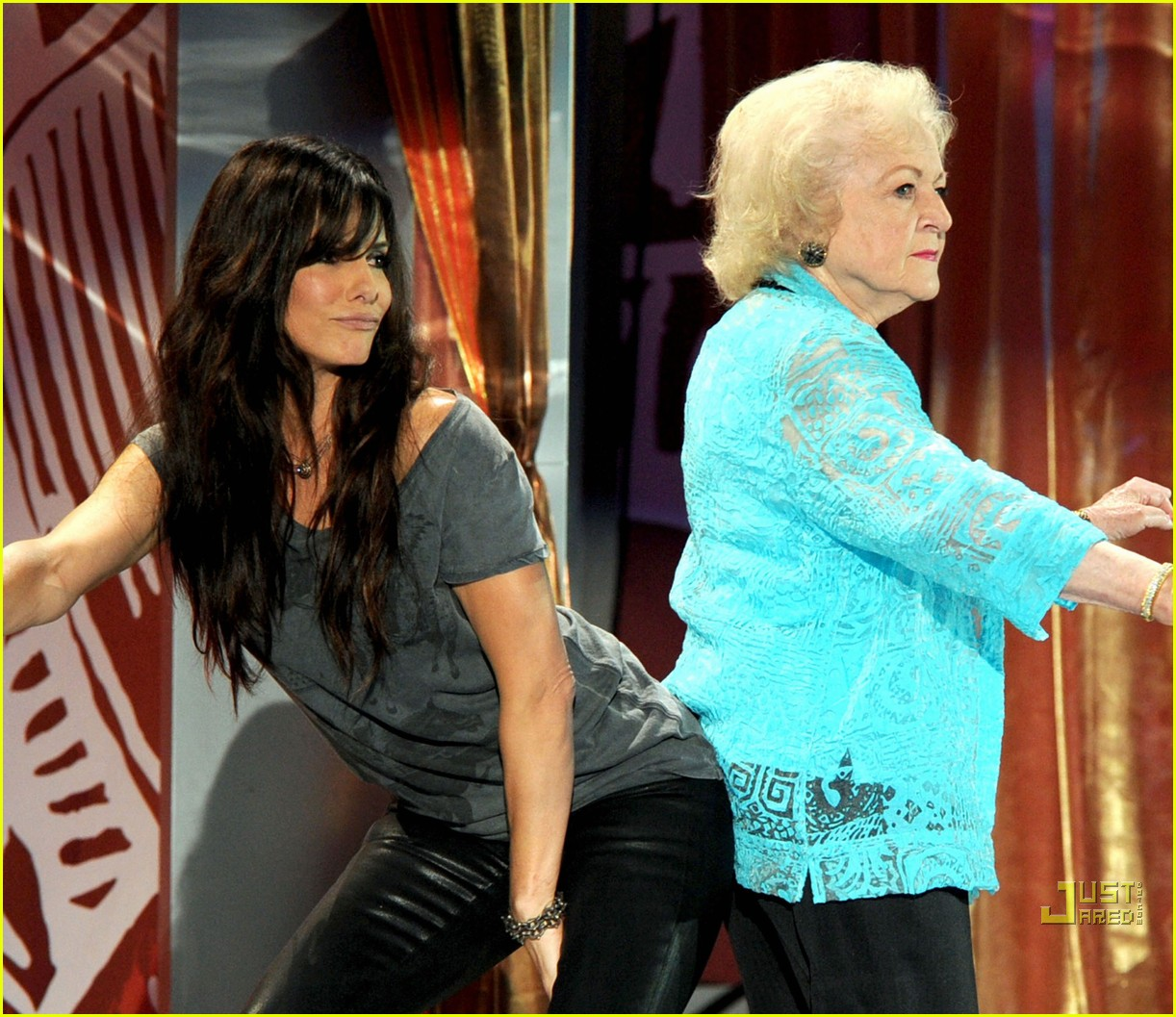 Sandra Bullock and betty white
