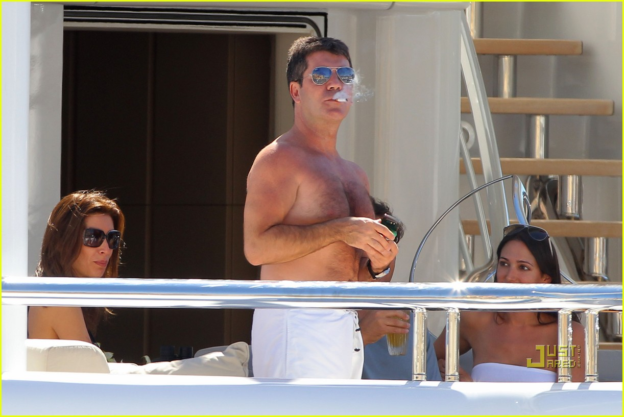 simon cowell chest hair 052471867