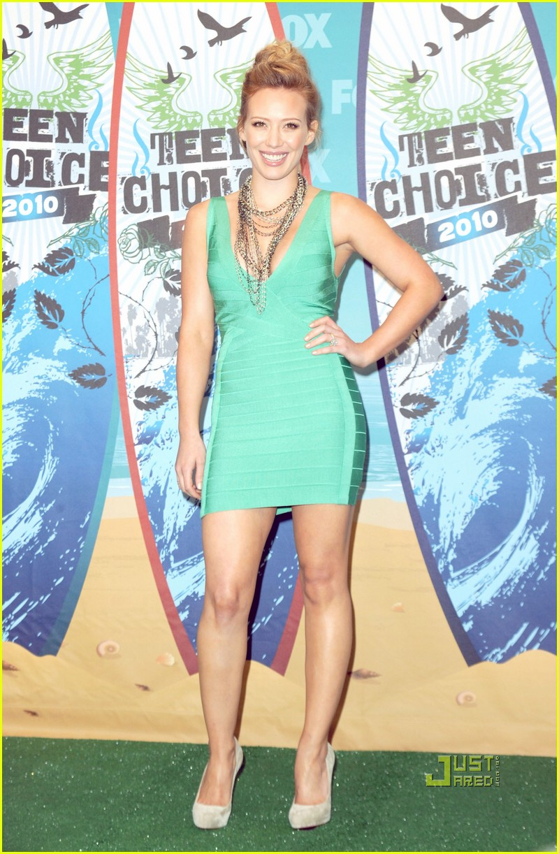 Hilary Duff: Teen Choice Awards with Mike Comrie!: Photo ...