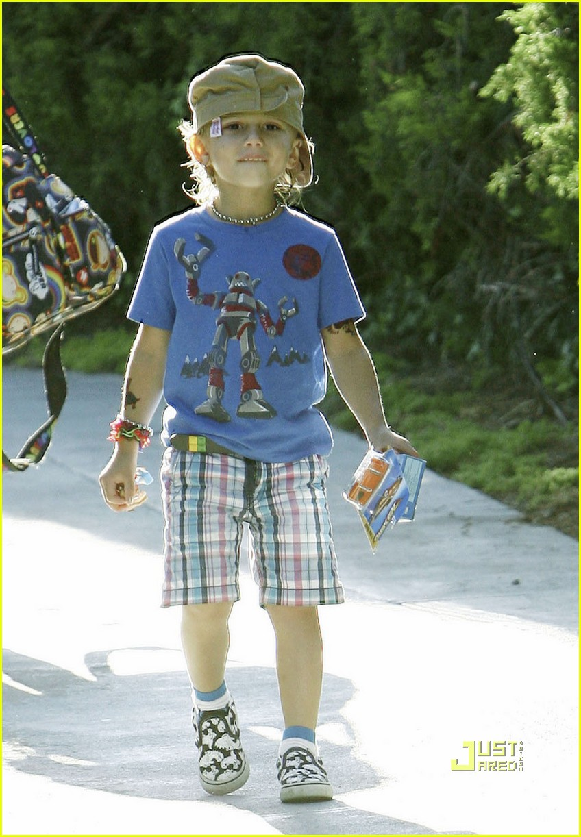 gwen stefani gavin rossdale kingston birthday party 162474824