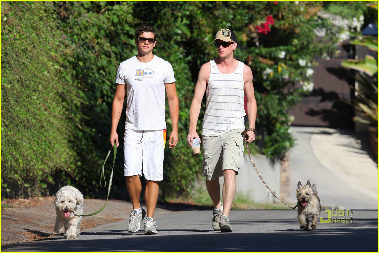 neil patrick harris david burtka dogwalking 022474780