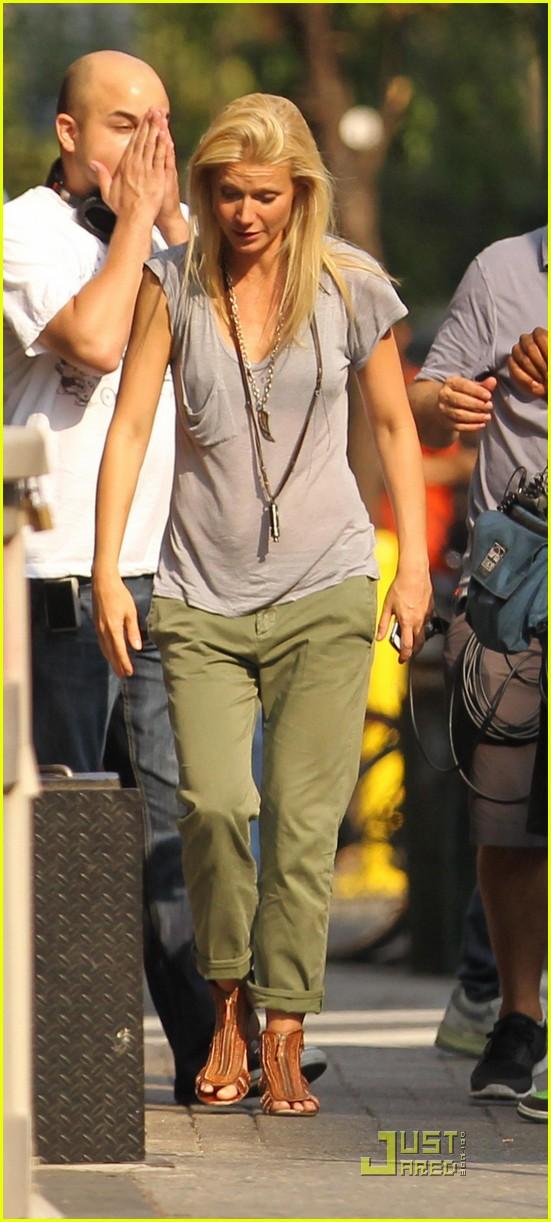 Gwyneth Paltrow: Hot On The Set! Gwyneth Paltrow