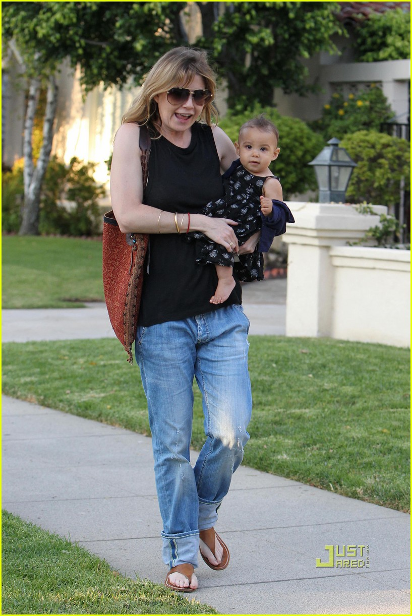 ellen pompeo chris ivery happy family with stella 062472217