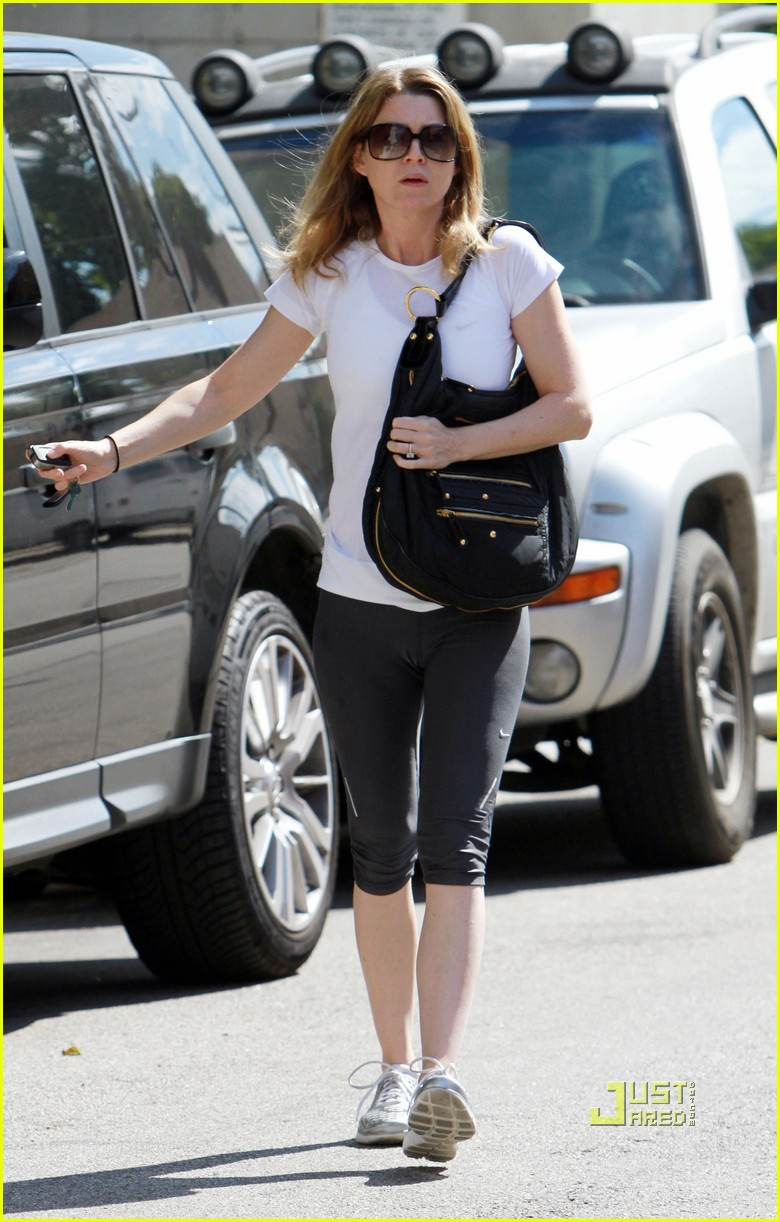 ellen pompeo workout errands studio city 01