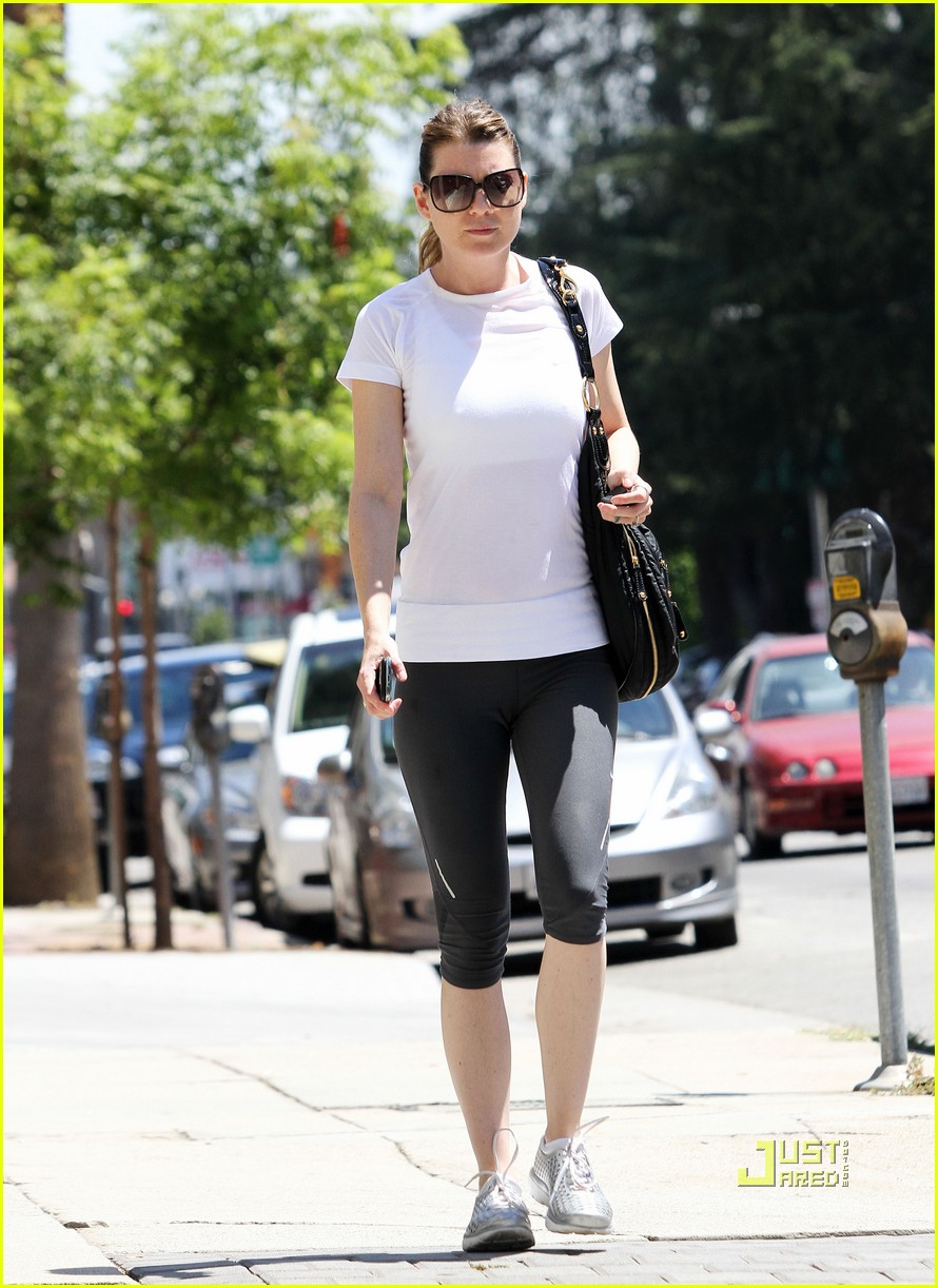 ellen pompeo workout errands studio city 15