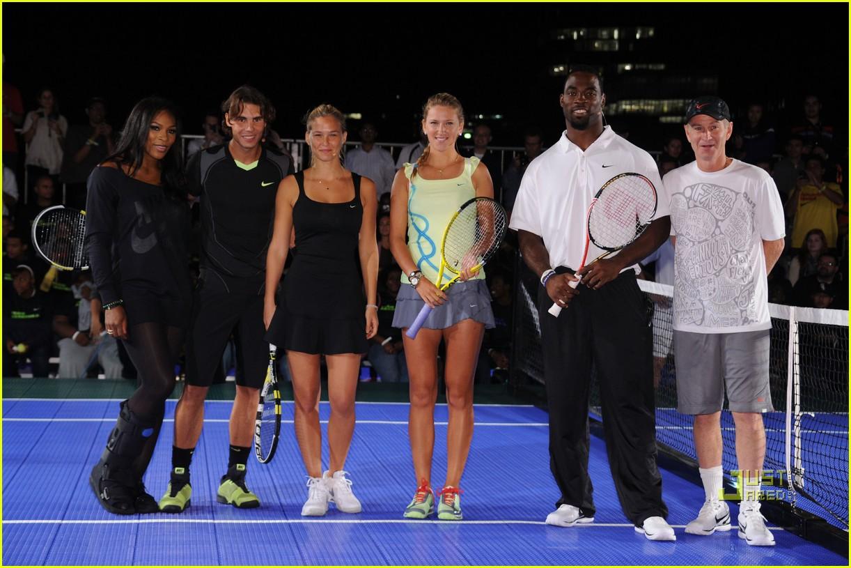 bar refaeli rafael nadal nike tennis primetime knockout 07