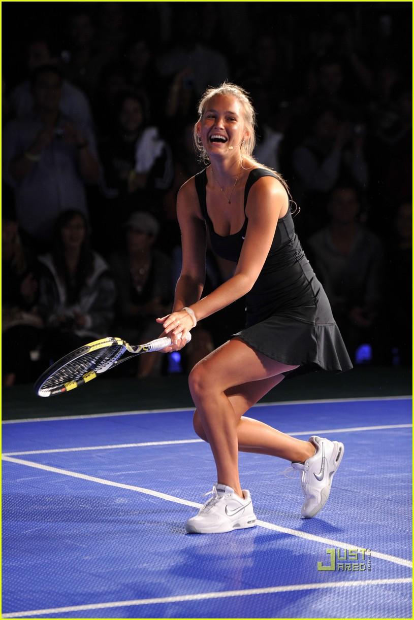bar refaeli rafael nadal nike tennis primetime knockout 09