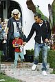 gwen stefani sons matching colors 13