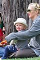 gwen stefani swinging with zuma 03