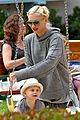 gwen stefani swinging with zuma 29