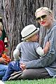 gwen stefani swinging with zuma 32