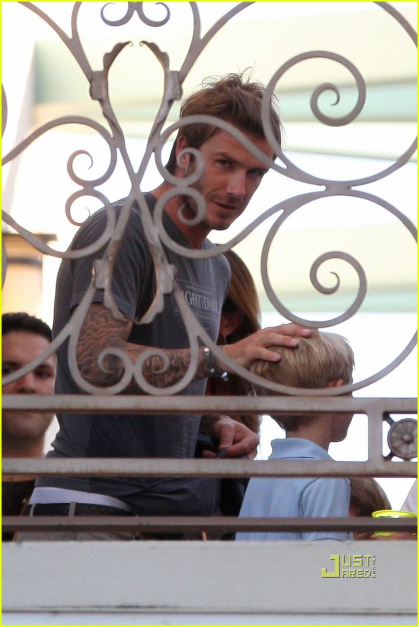 david victoria beckham romeo birthday party 10