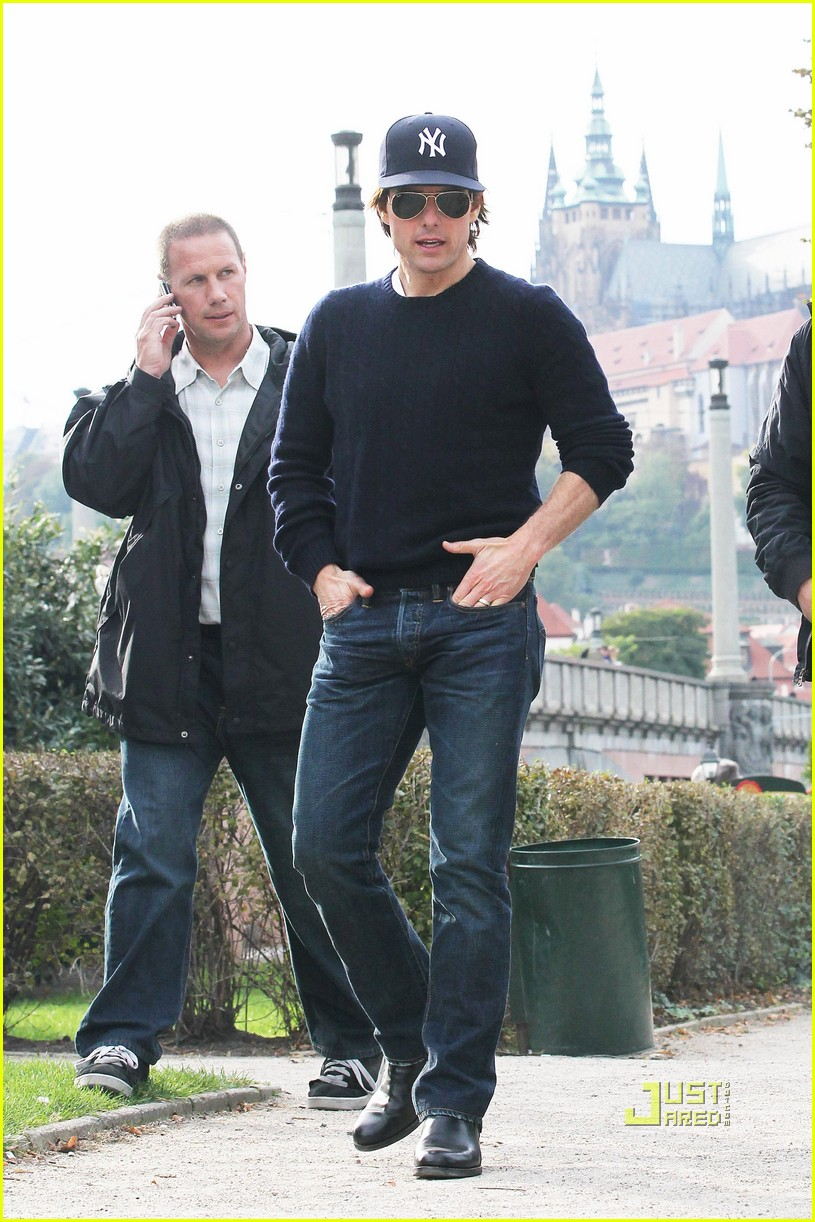 tom cruise scouting location prague 012481853