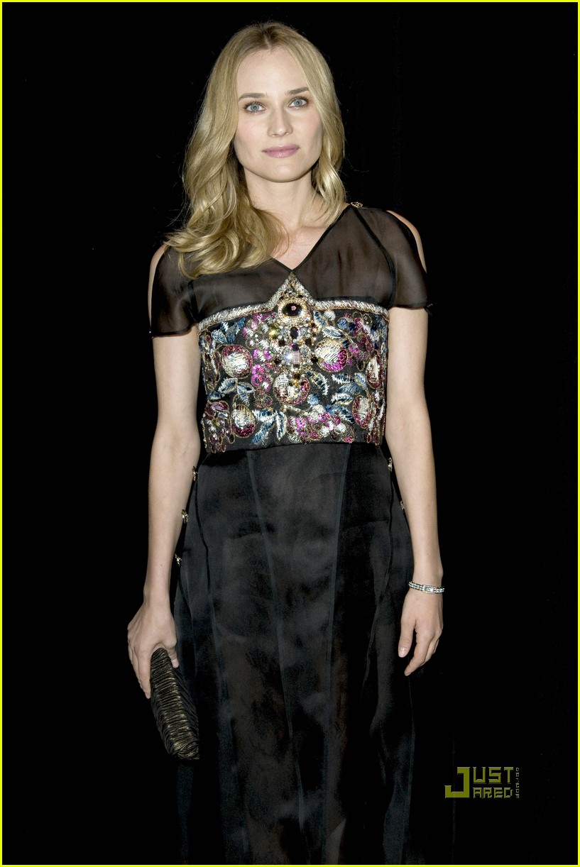 diane kruger karl lagerfeld luncheon 05