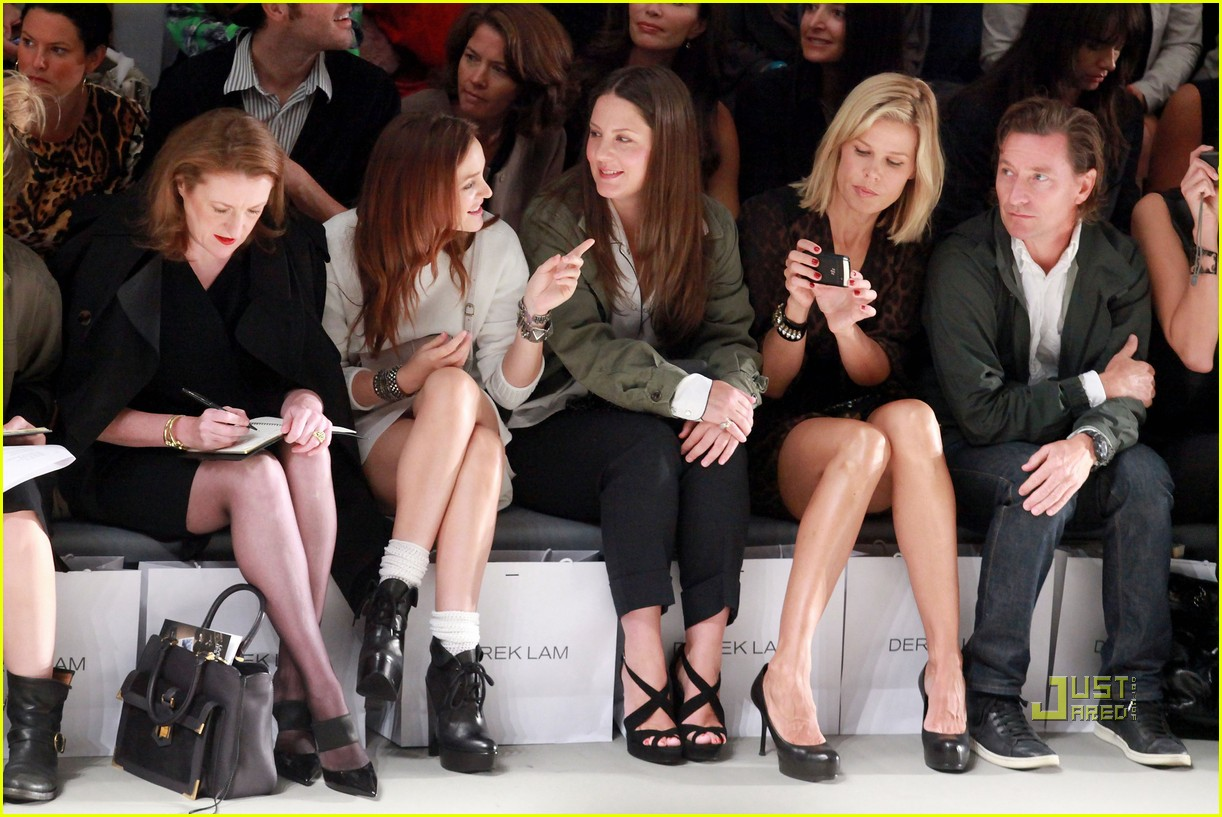 leighton meester derek lam ny fashion week 02