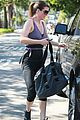 ellen pompeo wrap top gym studio city 03