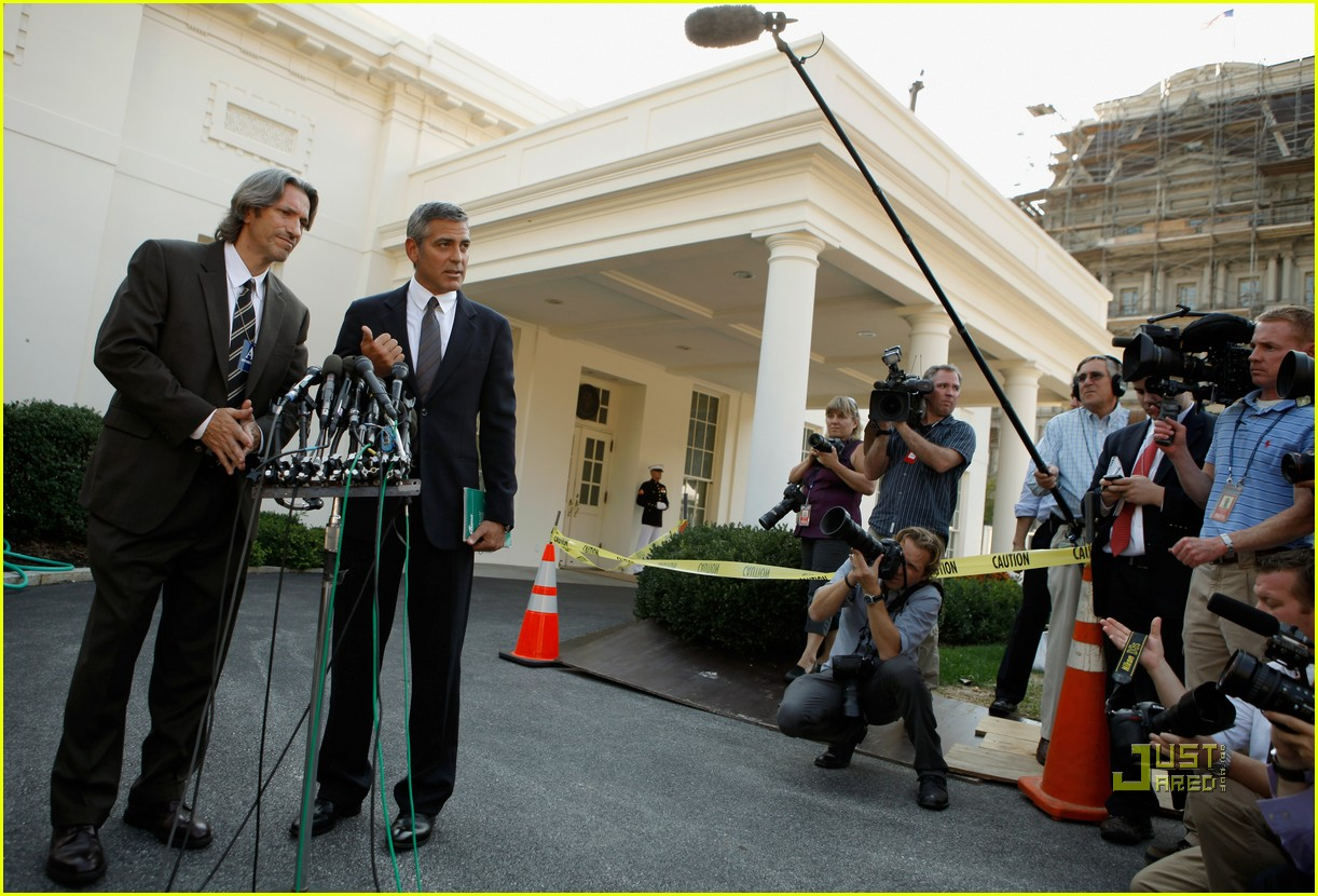 george clooney sudan washington dc 04