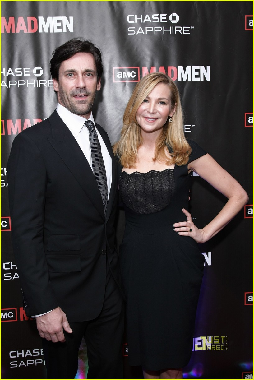 jon hamm mad men screening with jennifer westfeldt 07