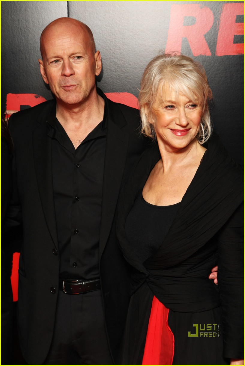 helen mirren bruce willis red uk film premiere 10