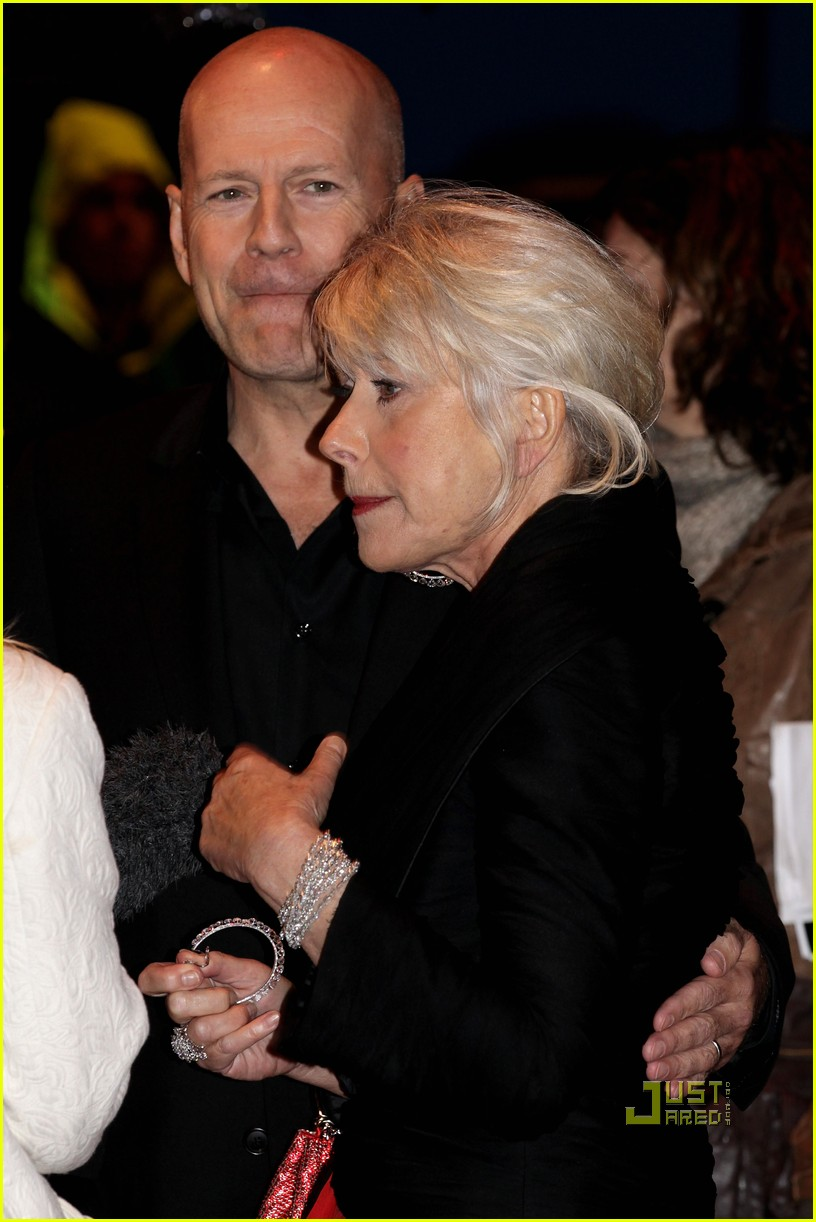 helen mirren bruce willis red uk film premiere 13