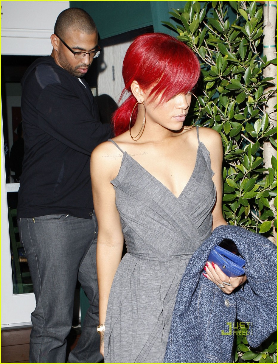 rihanna matt kemp giorgio baldi date night 09