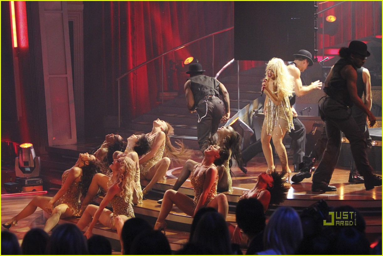 christina aguilera dancing with the stars 10