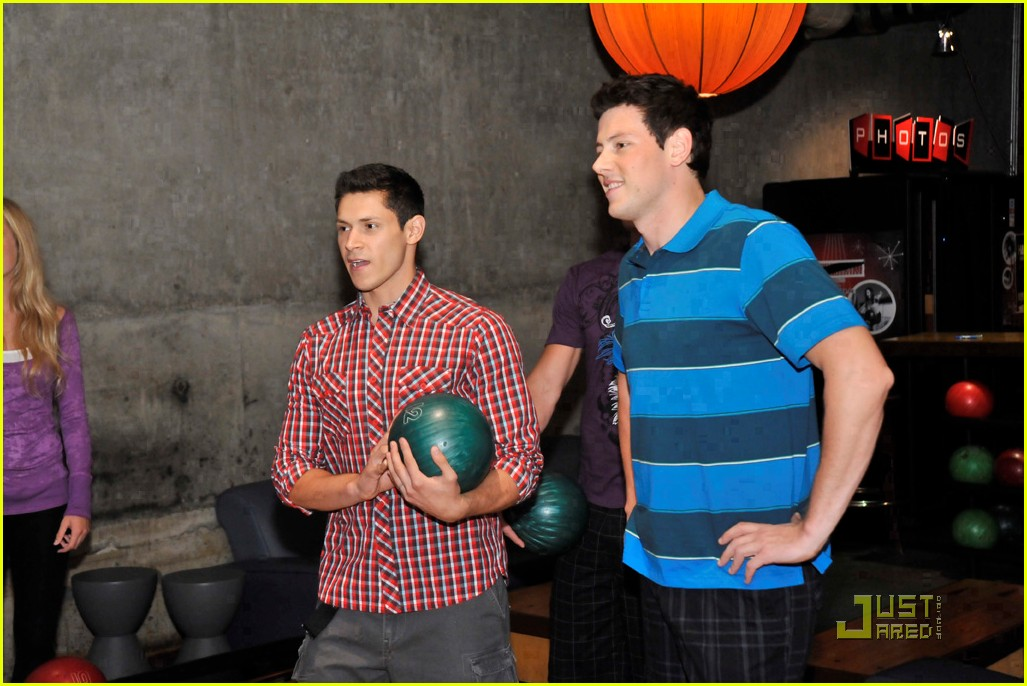 cory monteith bowling 16