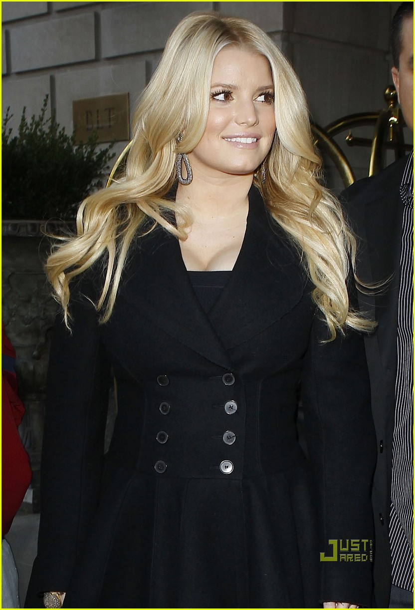 jessica simpson regis kelly 02