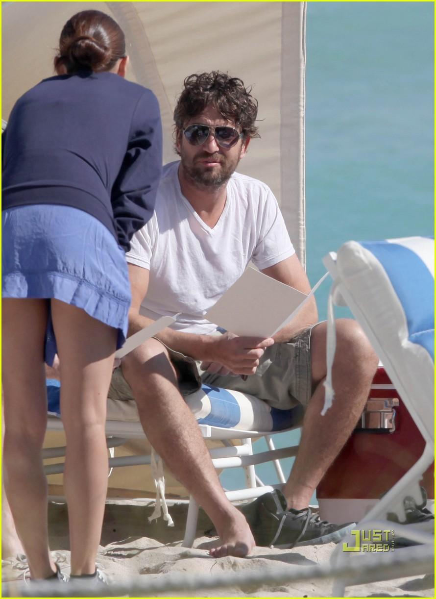 gerard butler south beach 08