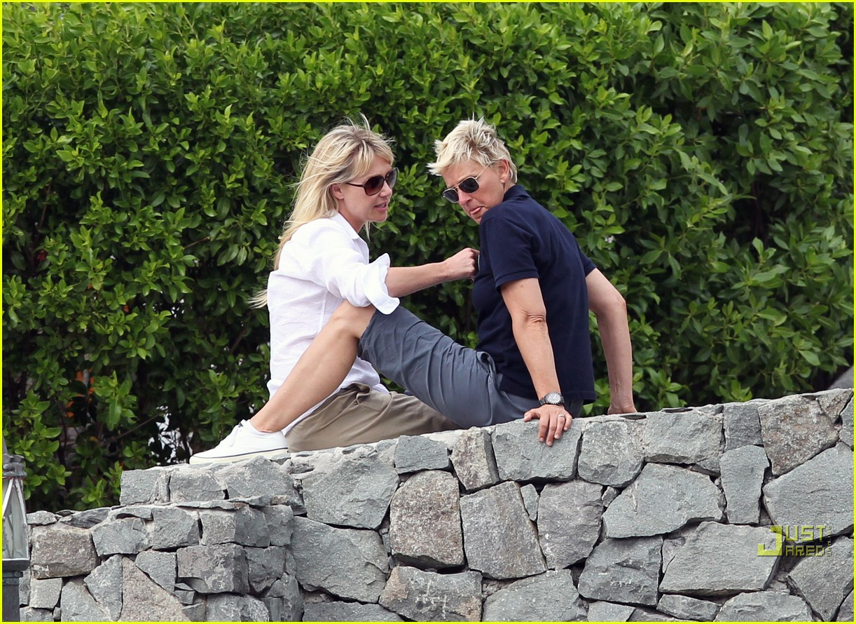 ellen degeneres portia de rossi happy together 08