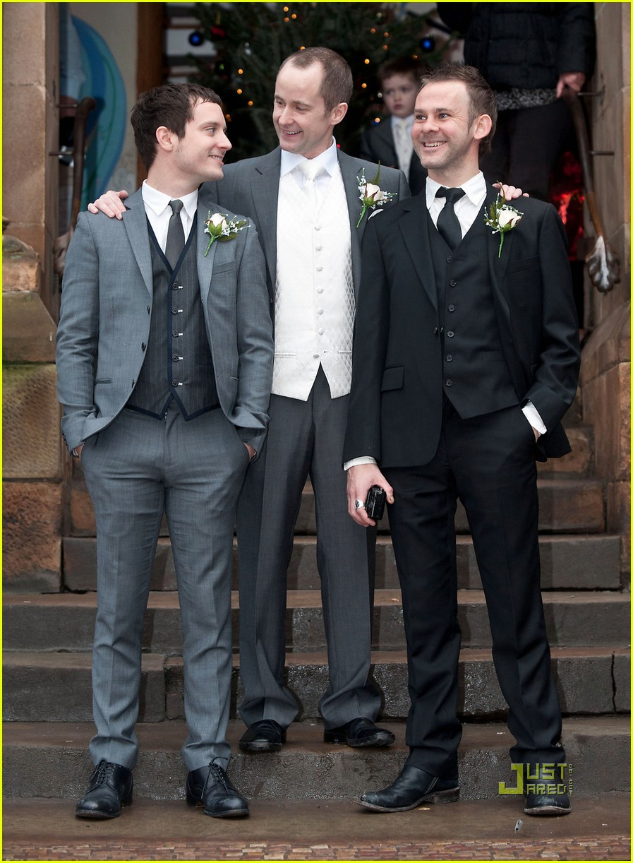elijah wood dominic monaghan billy boyd wedding 042506989