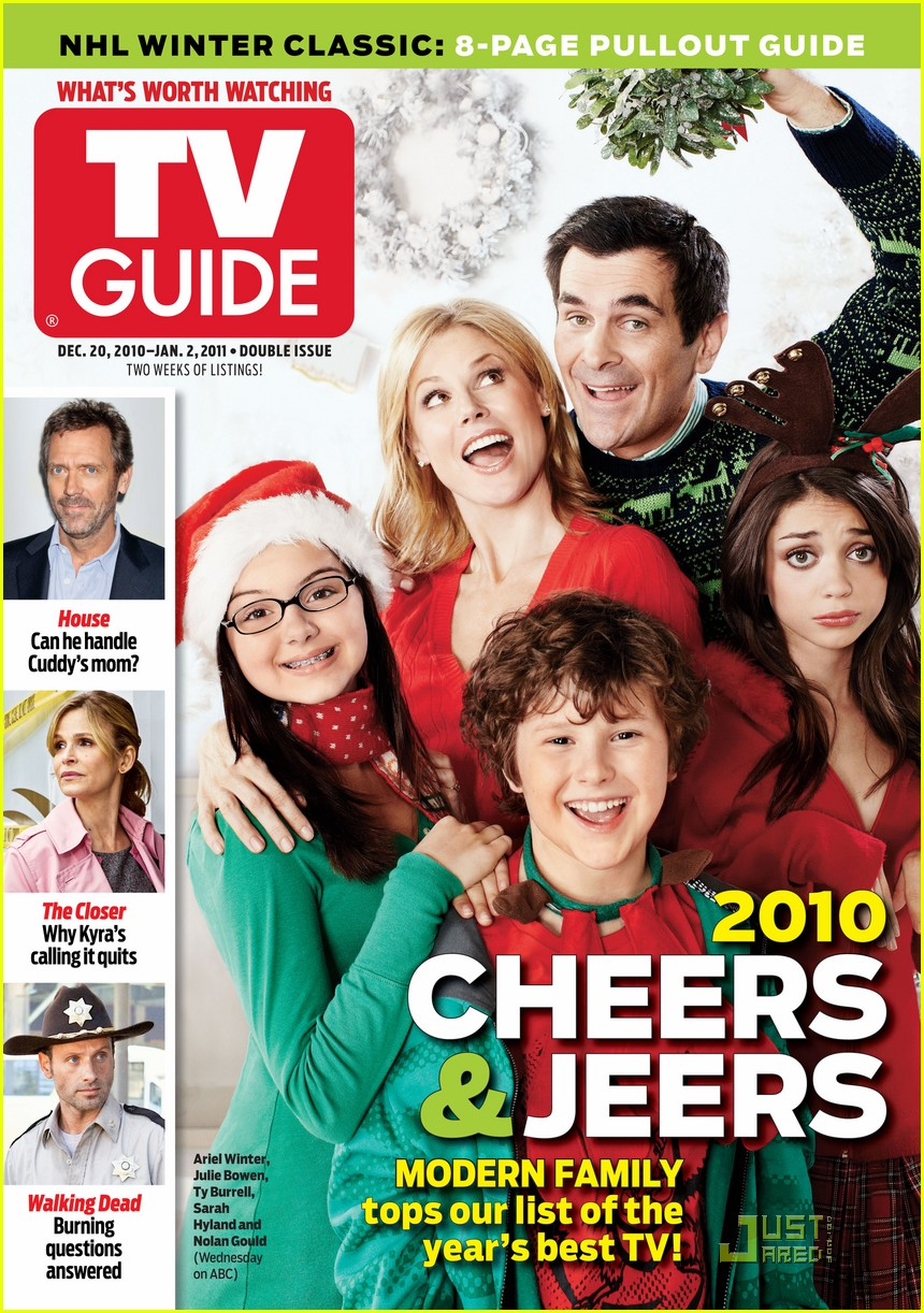 full sized photo of modern family tv guide 01 photo 2504651 just rh justjared com ABC Programming Guide ABC Guide Harness