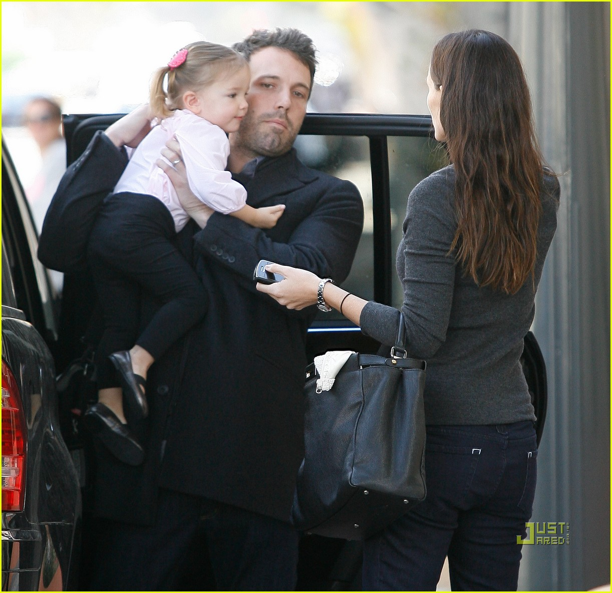 jennifer garner ben affleck seraphina violet party 012504498