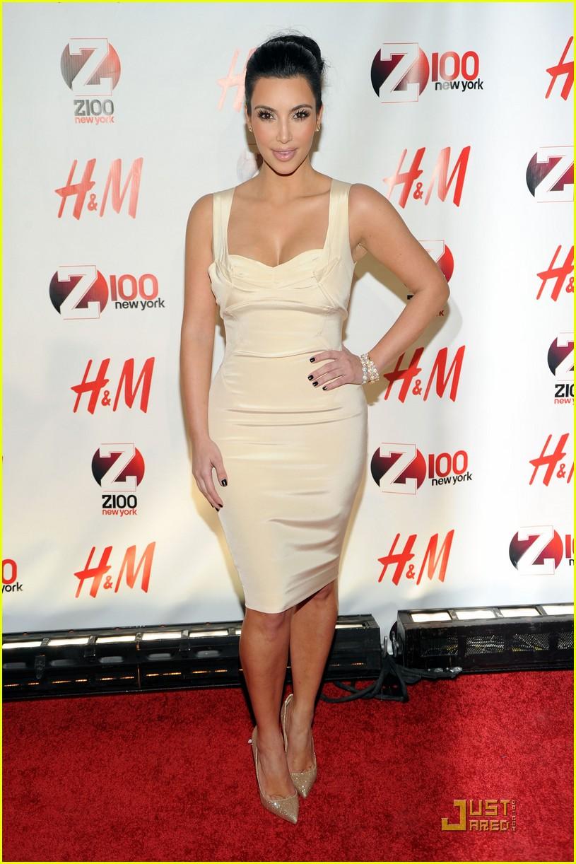 kim kardashian z100 jingle ball 2010 01