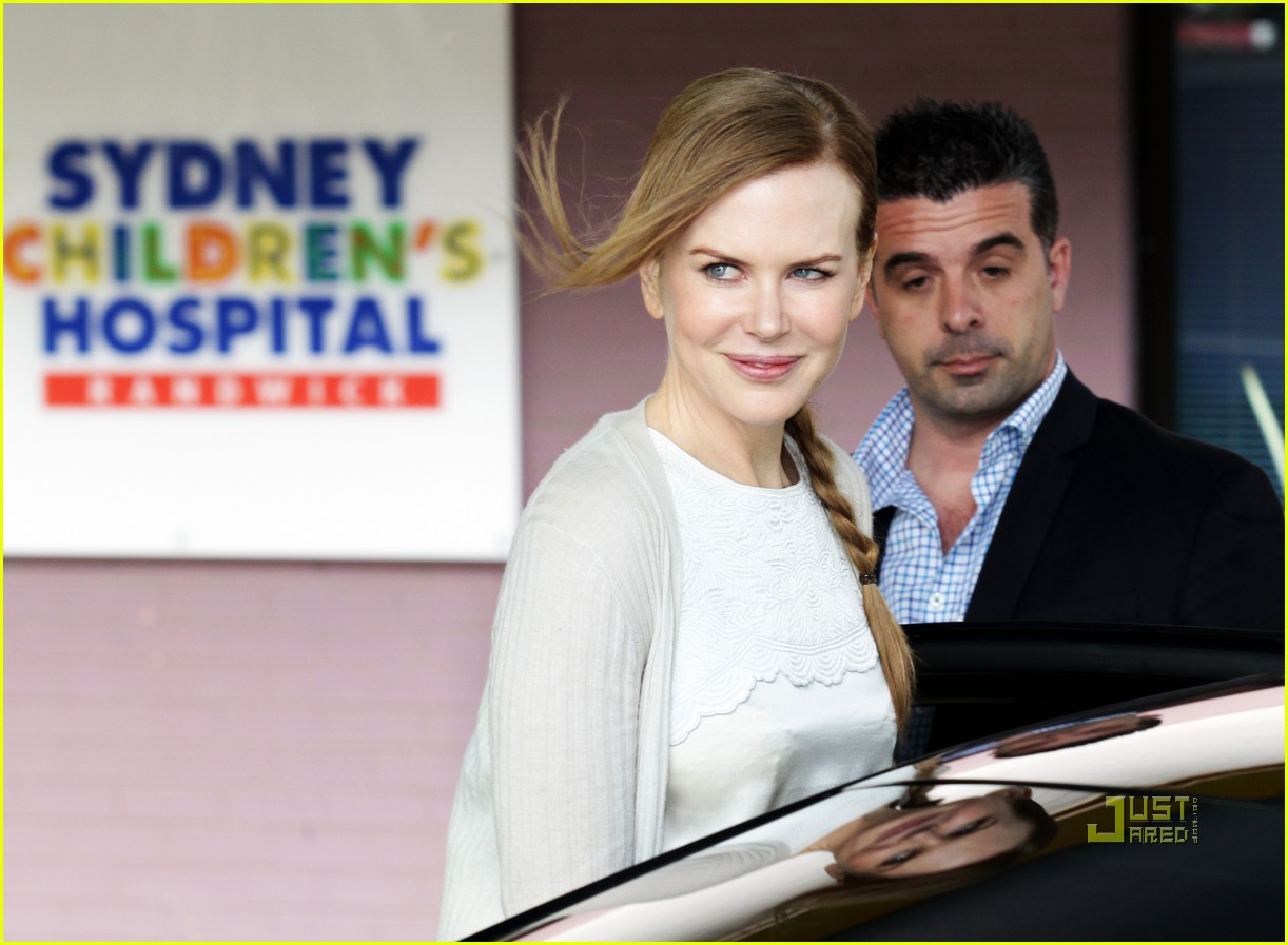 nicole kidman sydney childrens hospital 012505398
