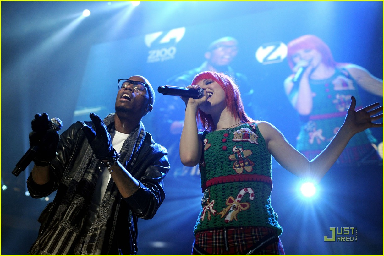 hayley williams z100 jingle ball 09